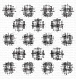 Crosshatch Polka Dot Background