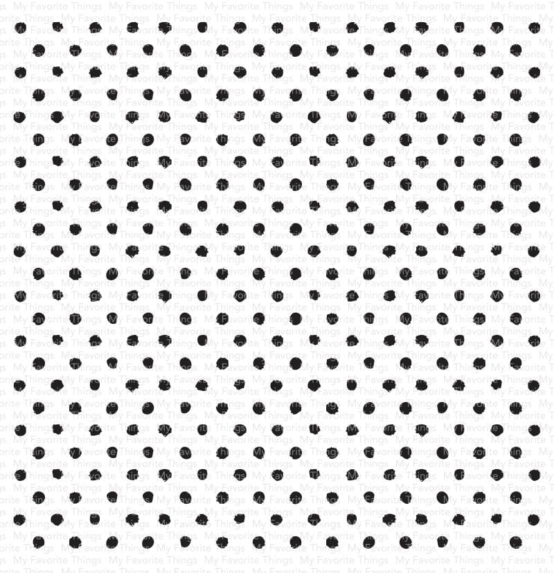 Splotchy Dots Background
