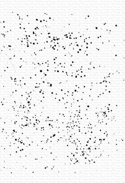 Brush Spatter Background