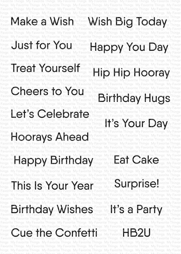 Little Birthday Notes