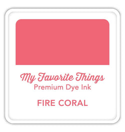 Fire Coral Premium Dye Ink Cube
