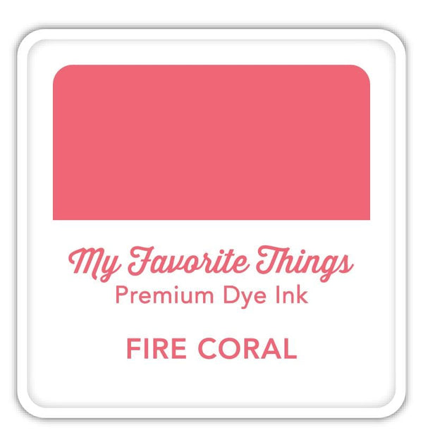 Premium Dye Ink Cube Fire Coral