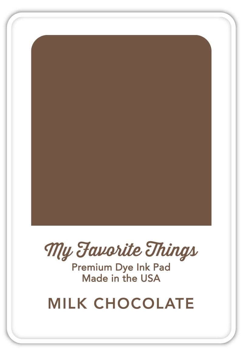 Milk Chocolate Premium Dye Ink Pad