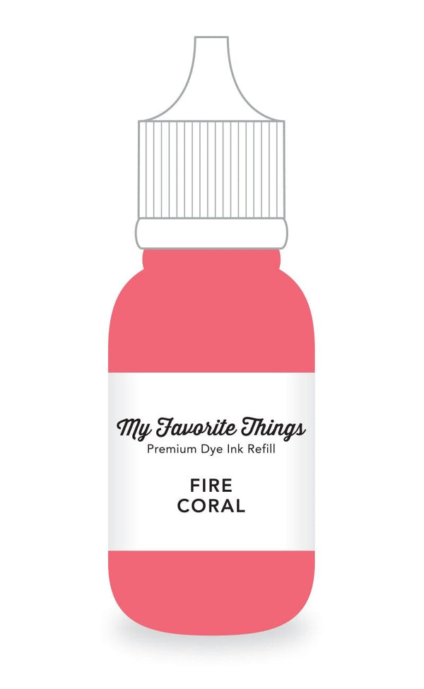 Fire Coral Premium Dye Ink Refill