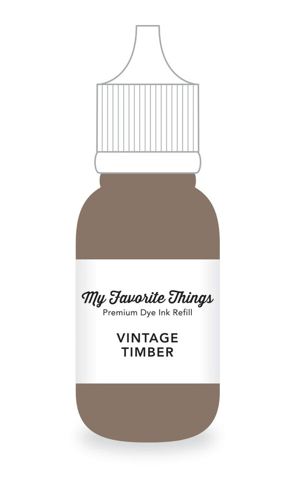 Vintage Timber Premium Dye Ink Refill