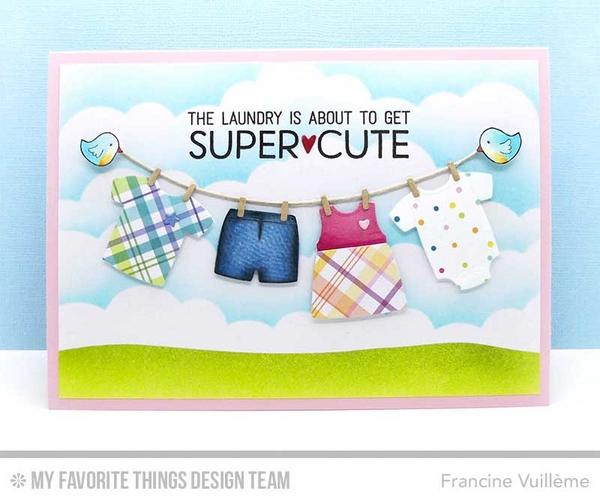 LLD Bundle of Baby Clothes Die-namics