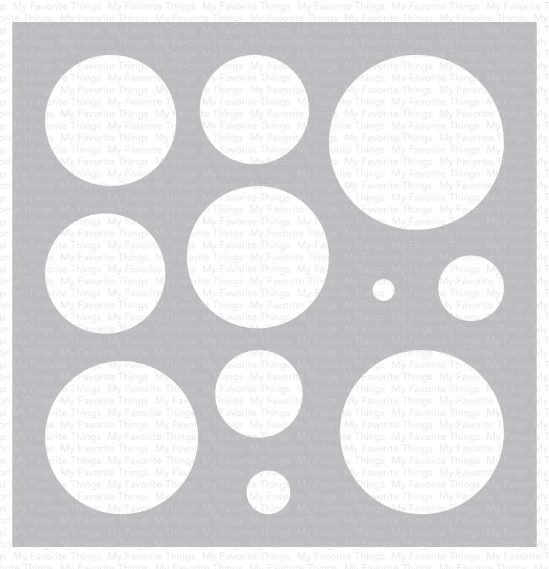 Basic Shapes - Circles Stencil