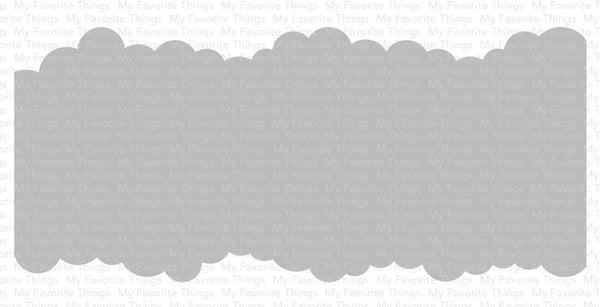 Slimline Cloud Edges Stencil