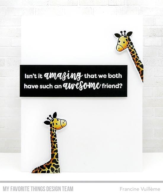 Playful Giraffes