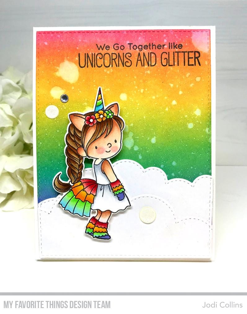 BB Unicorns and Glitter Die-namics