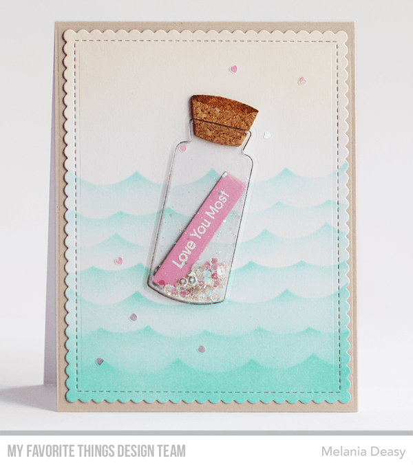 Message in a Bottle Die-namics