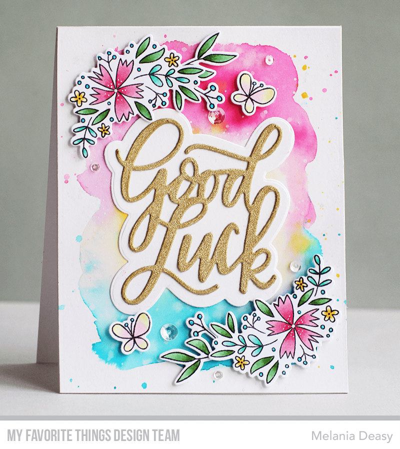 Good Luck Greeting Die-namics
