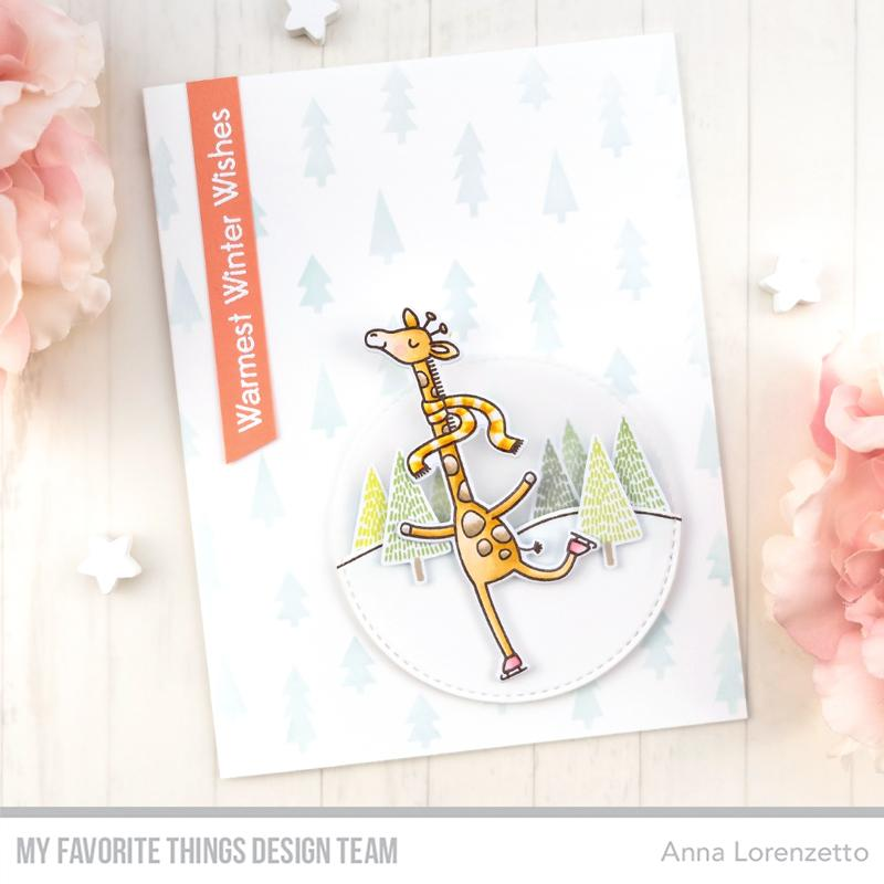 Giraffes on Ice