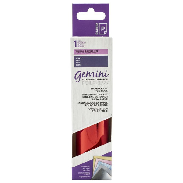 Gemini FoilPress Berry Foil Roll
