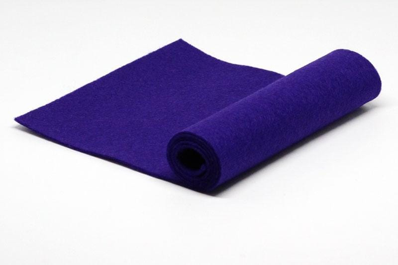 Boysenberry Wool Felt