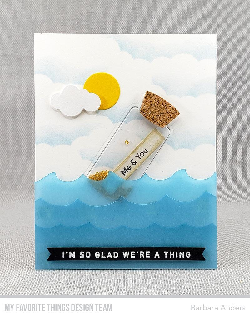 Message in a Bottle Card Kit