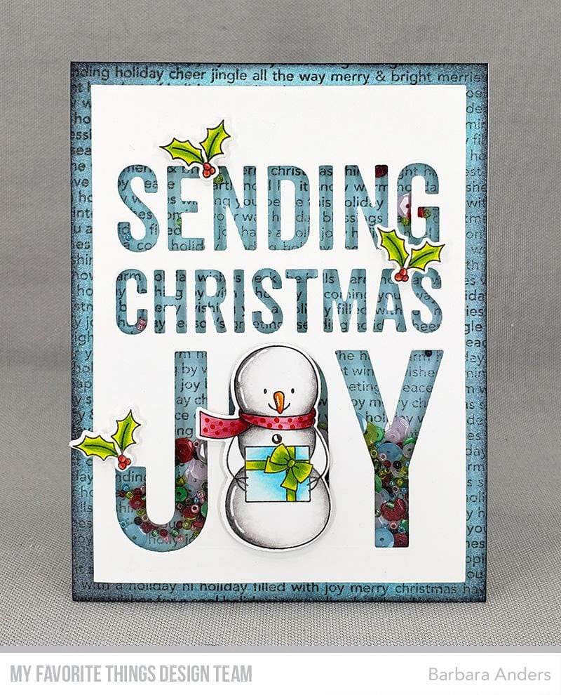Sending Christmas Joy Die-namics