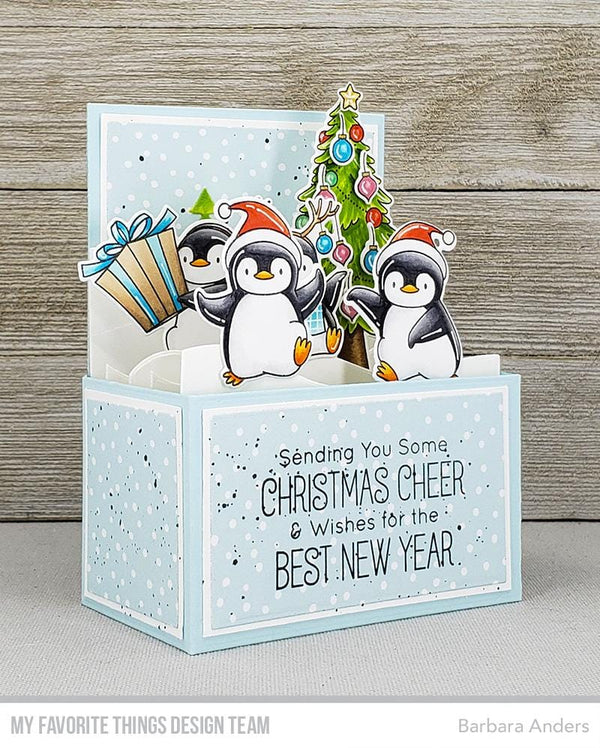 BB Holiday Penguins Die-namics