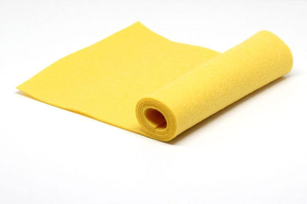 Lemon Drop Wool Felt