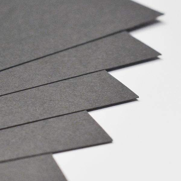 Steel Grey Card Stock