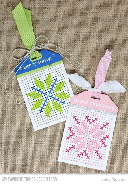 Cross-Stitch Tag Die-namics