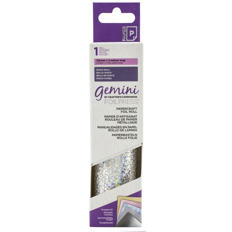 Gemini FoilPress Disco Ball Foil Roll