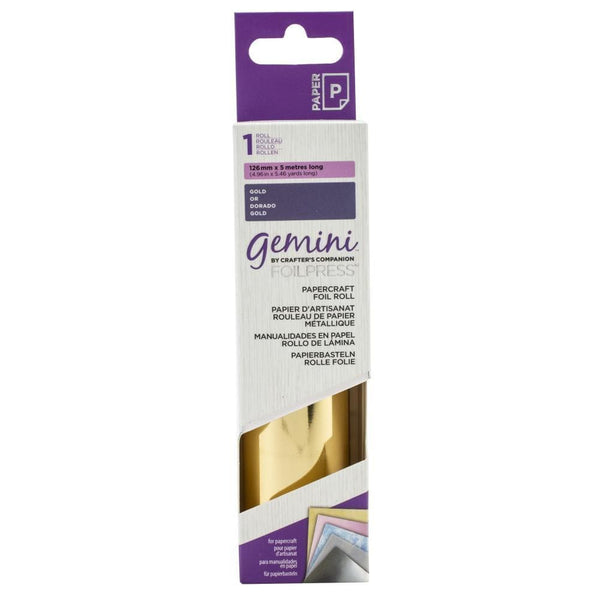 Gemini FoilPress Gold Foil Roll