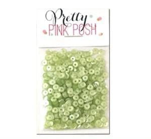 4 mm Lime Sorbet Sequins