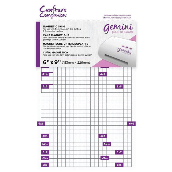Crafter's Companion Gemini Junior Magnetic Shims