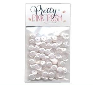 6 mm Marshmallow Sequins