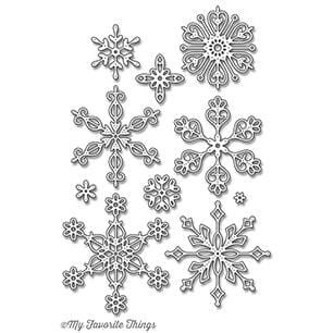 Stylish Snowflakes Die-namics