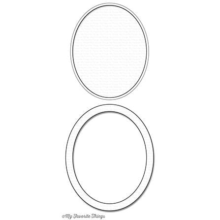 Oval Shaker Window & Frame Die-namics