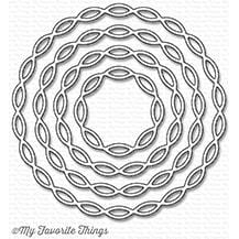 Linked Chain Circle Frames Die-namics