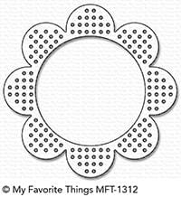 Cross-Stitch Flower Frame Die-namics