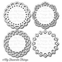 Mini Doily Circles Die-namics
