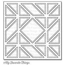 Diagonal Quilt Square Cover-Up Die-namics