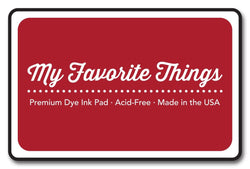 Electric Red Premium Dye Ink Pad