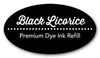Black Licorice Premium Dye Ink Refill