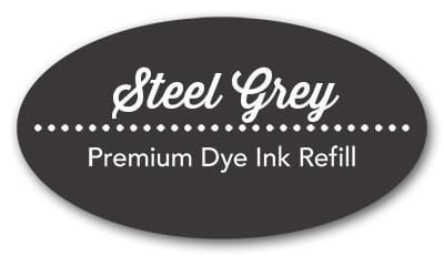 Steel Grey Premium Dye Ink Refill