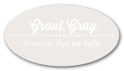 Grout Gray Premium Dye Ink Refill