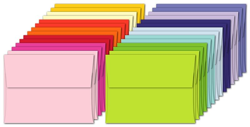 Rainbow Garden Assortment Envelopes
