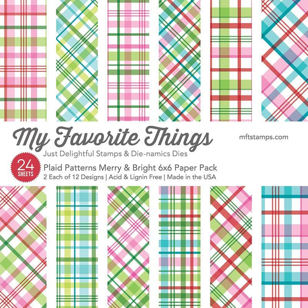 Plaid Patterns Merry & Bright Paper Pad