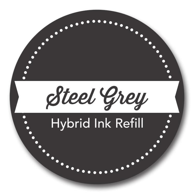 Steel Grey Hybrid Ink Refill