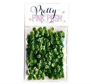4 mm Mossy Green Sequins