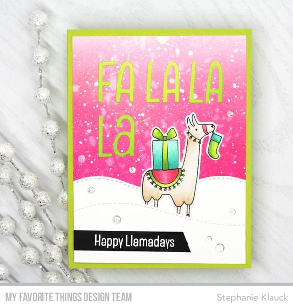 Happy Llamadays Die-namics