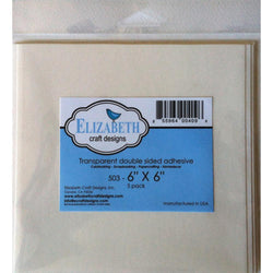 6 x 6 Double Sided Adhesive Sheets