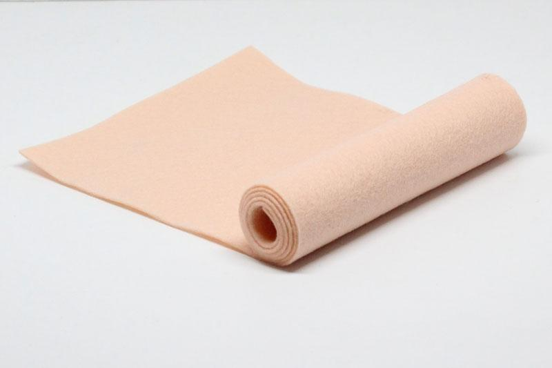 Peach Bellini Wool Felt