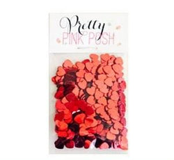 6 mm Red Heart Confetti