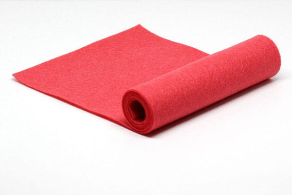 Red Hot Wool Felt