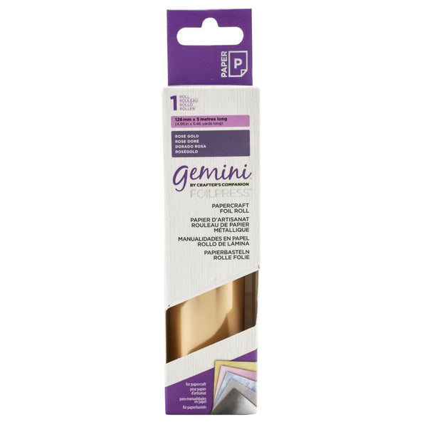 Gemini FoilPress Rose Gold Foil Roll